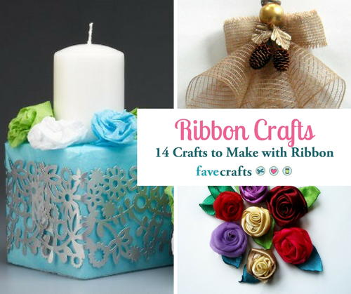 crafts with ribbons ideas ribbon crafts 14 things to make with ribbon favecrafts 4161