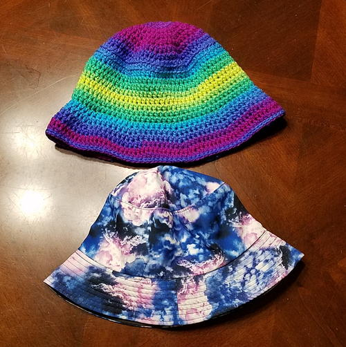 Crochet Bucket Hat aka Fisherman\'s Hat | AllFreeCrochet.com