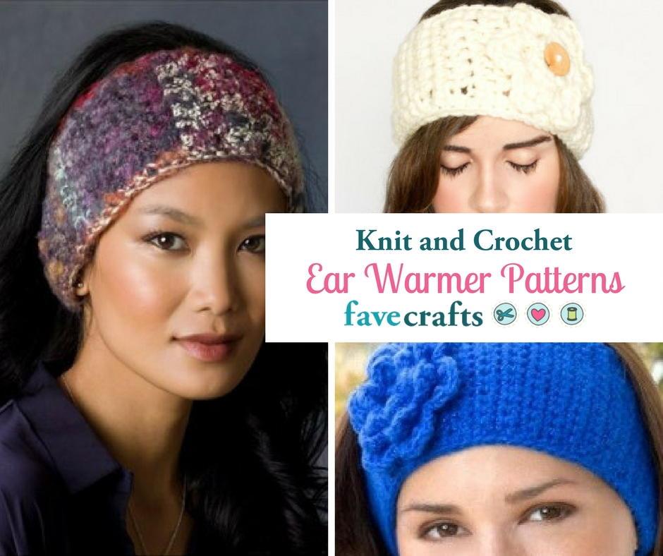 23 Knit Crochet Ear Warmer Patterns Favecrafts