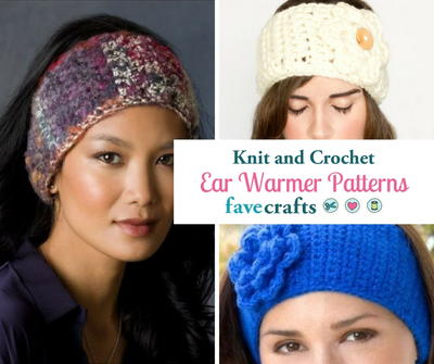 23 Knit Crochet Ear Warmer Patterns Favecrafts