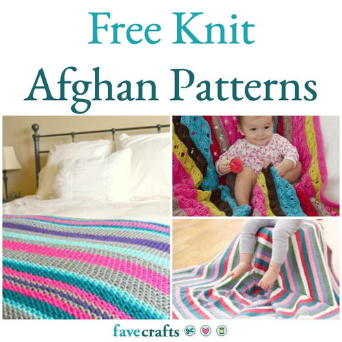 33 Free Knit Afghan Patterns | FaveCrafts.com
