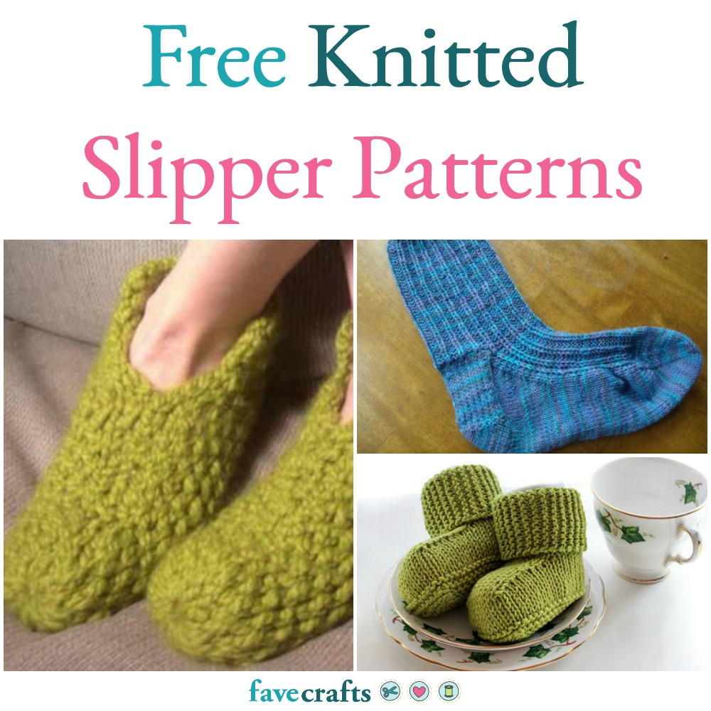 What is easier to knit slippers: crochet or knitting needles