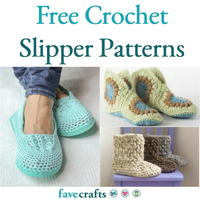 17 Free Crochet Slipper Patterns