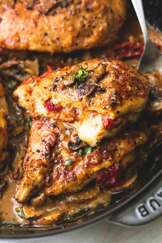 Olive Garden 39 S Stuffed Chicken Marsala Knockoff