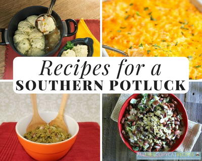 Recipes For A Southern Potluck