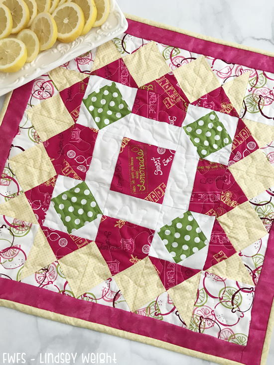 Homemade Lemonade Table Topper Tutorial
