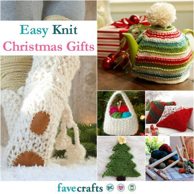 36 Easy Knit Christmas Gifts | FaveCrafts.com
