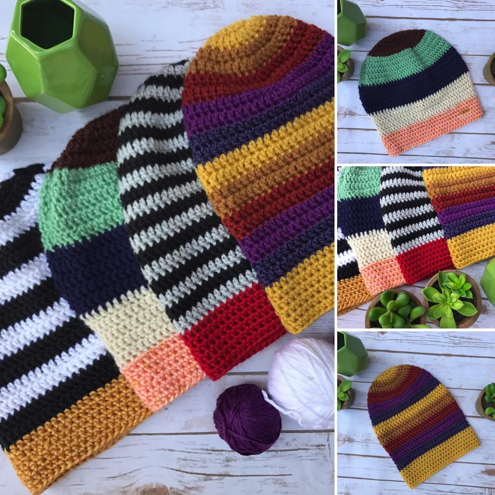 Slouchy beanie crochet hat tutorial allfreecrochet baditri Images