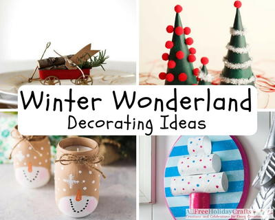 winter wonderland decorating ideas - Winter Wonderland Christmas Decorations