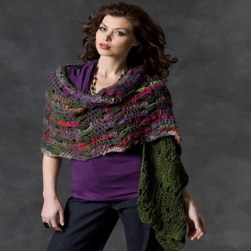Magical Multicolored Shawl