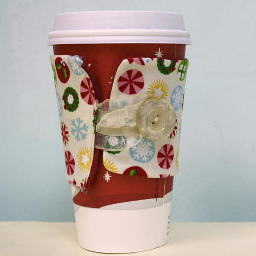 Christmas Coffee DIY Drink Cozy