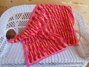 Cuddleworthy Crochet Baby Blanket