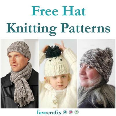 Hat knitting pattern free uk dating