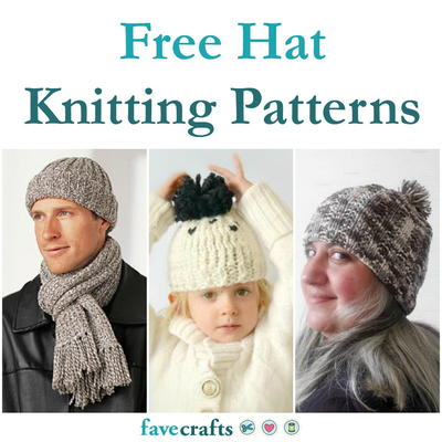 27 Free Hat Knitting Patterns Favecrafts