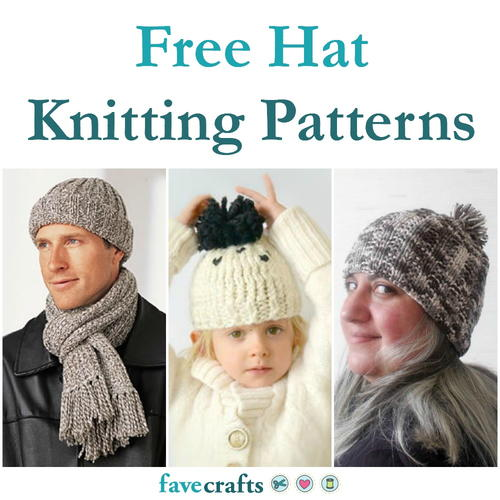 27 Free Hat Knitting Patterns Favecrafts