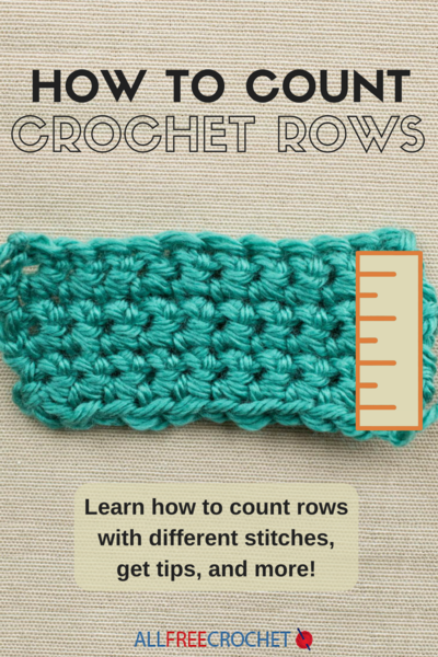 How to Count Crochet Rows