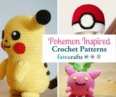 17 Pokemon Crochet Patterns Youll Adore Favecrafts