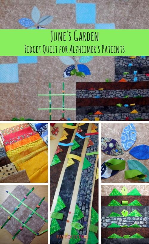 Junes Garden Quilt Pattern
