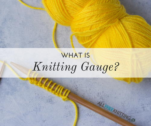 What Is Knitting Gauge