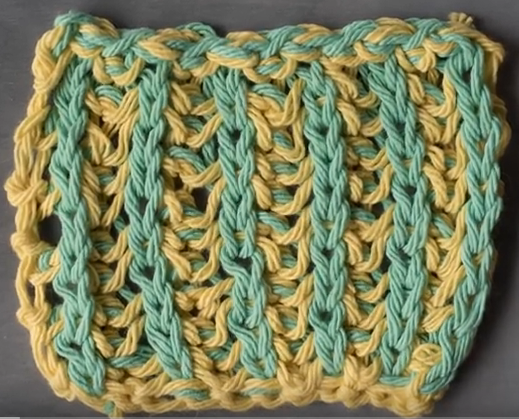 Knitting Ribbing With Two Colors : Knitting stitches library allfreeknitting