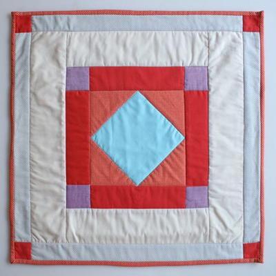Classic Amish Diamond Quilt