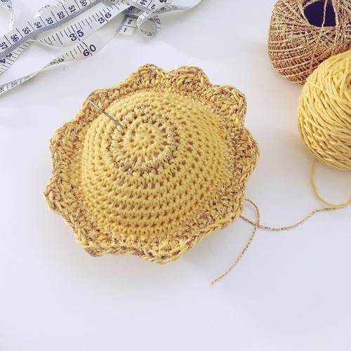 Pin Me Sunshine Pincushion