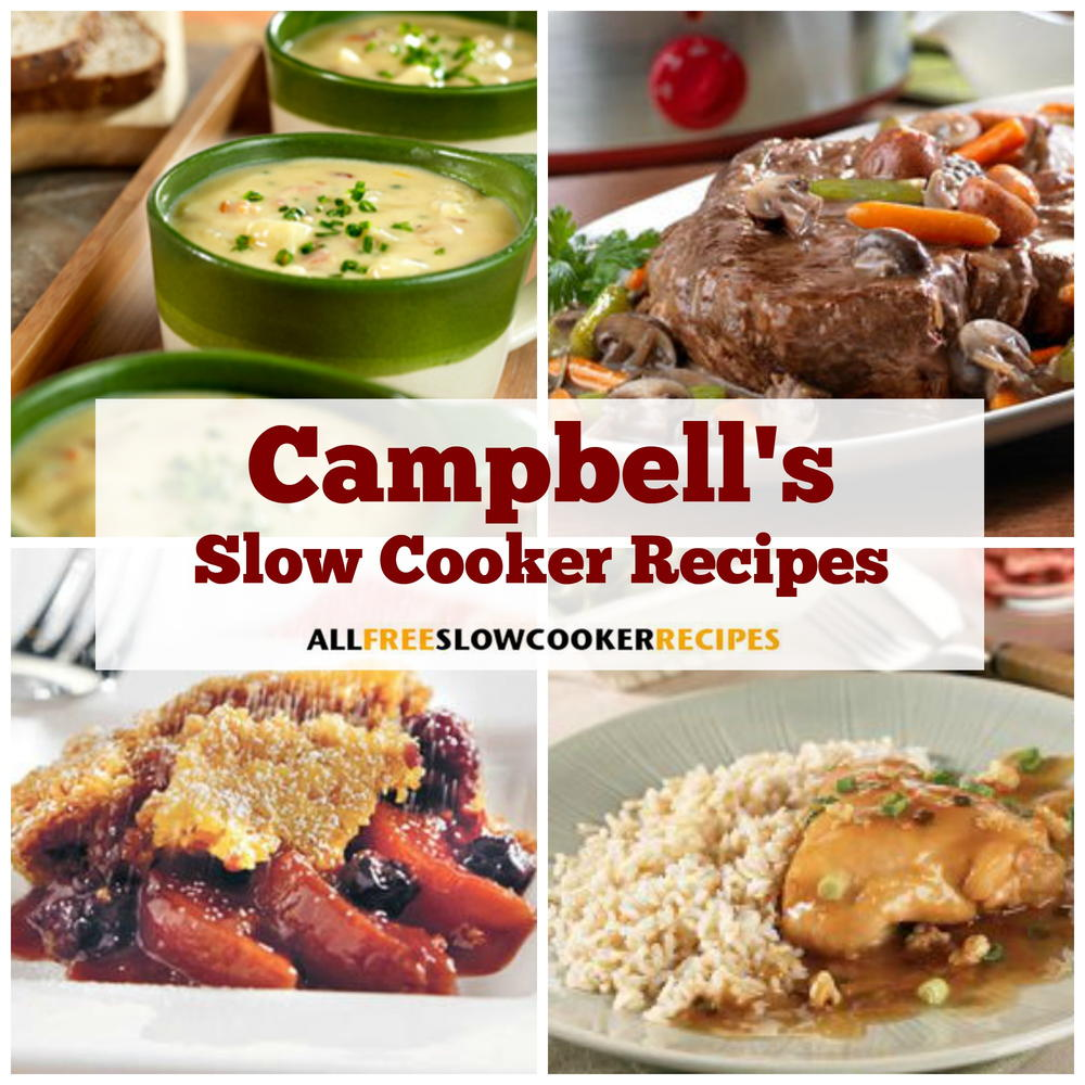 42 Campbell's Slow Cooker Recipes