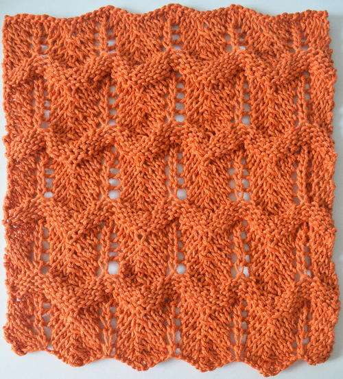 Puff Lace Washcloth