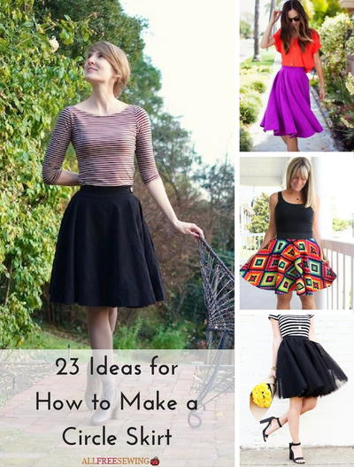 23 Ideas For How To Make A Circle Skirt Allfreesewing Com