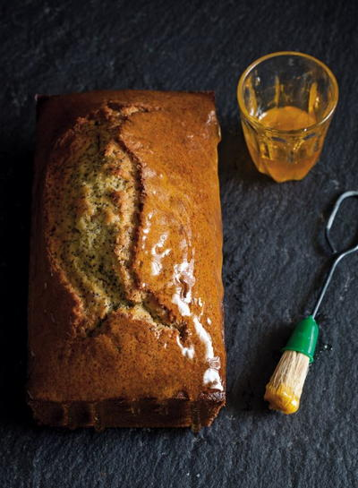 Orange  Poppy Seed Olive Oil Cake