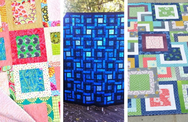 40 Simple Square In A Square Quilt Patterns FaveQuilts Cool Simple Square Quilt Patterns