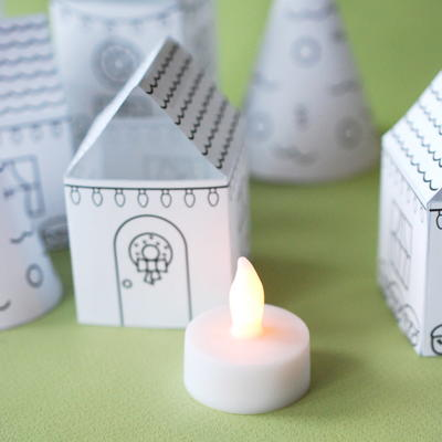 Printable Christmas Village
