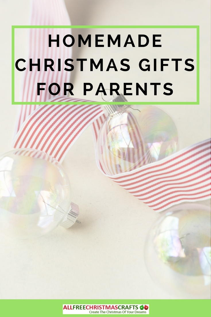 What Are Good Homemade Christmas Gifts for Parents ...
