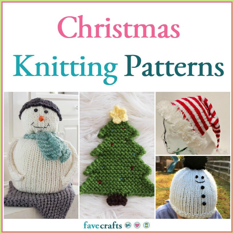 47 Christmas Knitting Patterns | FaveCrafts.com