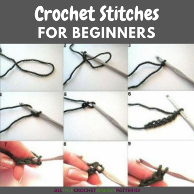 12 Crochet Stitches For Beginners Allfreecrochetafghanpatterns