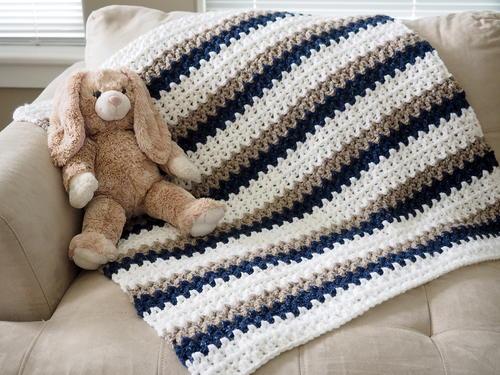 Easy Done In A Day Baby Blanket Allfreecrochet