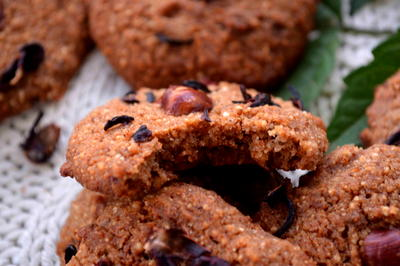Healthy Hazelnut Butter Cookies