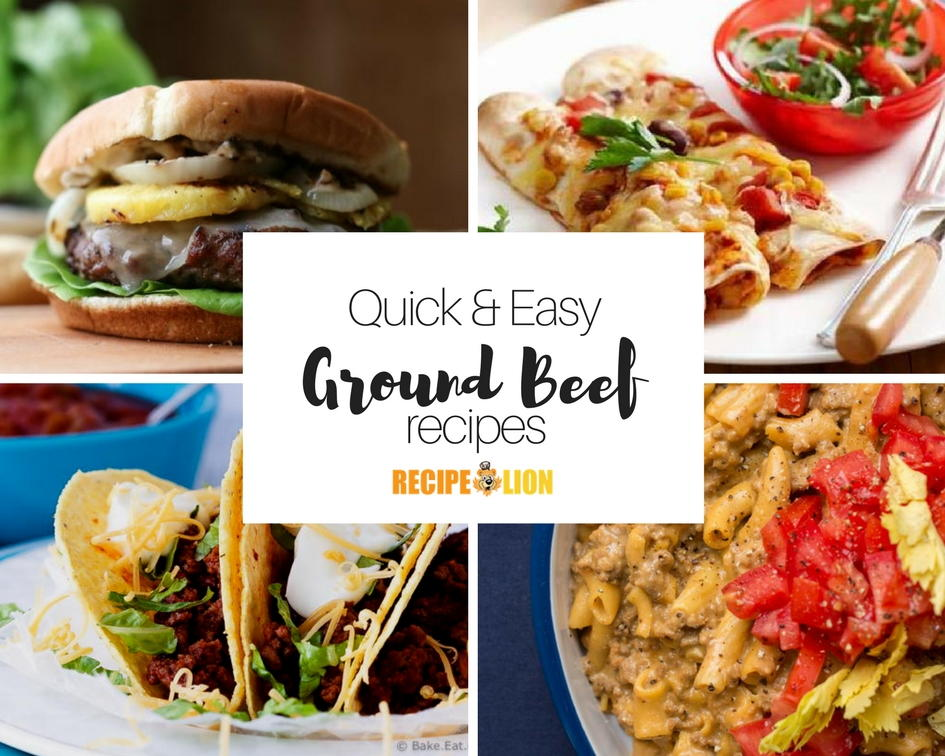 33 quick ground beef recipes recipelion forumfinder Image collections