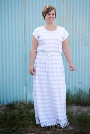 Trendy Mama Maxi Dress Pattern
