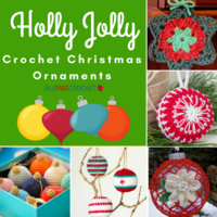 22 Holly Jolly Crochet Christmas Ornaments