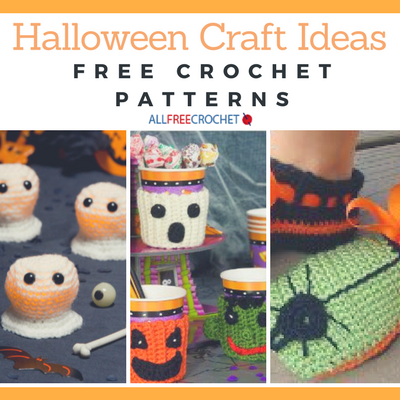 Halloween Craft Ideas 23 Free Crochet Patterns