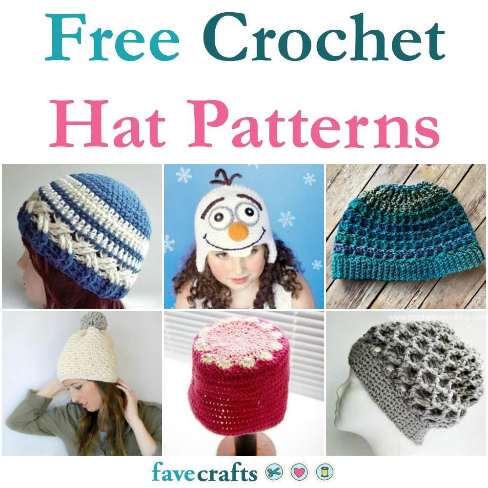 48 Free Crochet Hat Patterns Favecrafts