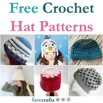 48 Free Crochet Hat Patterns Favecrafts