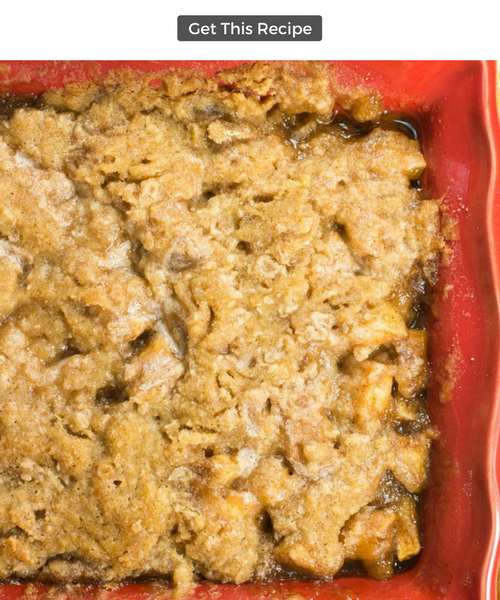 Mom's German Apple Cobbler