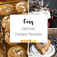 7 Easy German Dessert Recipes