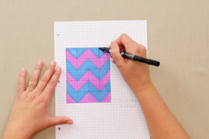 How to Design a Quilt on Graph Paper (Video) | FaveQuilts.com : how to design a quilt - Adamdwight.com