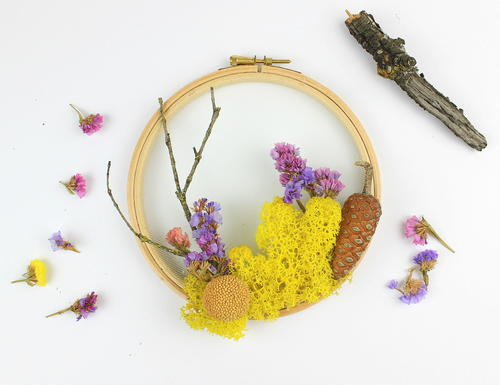 Woodland Flower Wreath