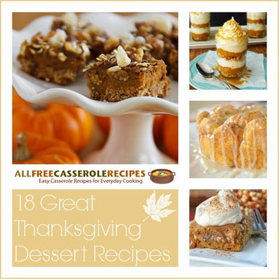 18 Great Thanksgiving Dessert Recipes