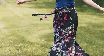 Long Wrap Skirt Pattern