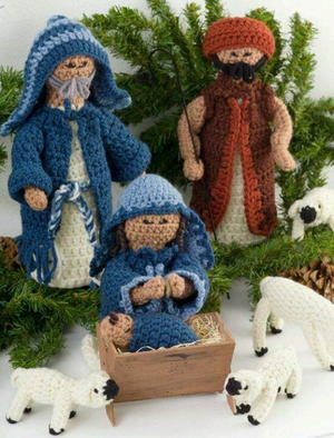 Crochet Nativity Set